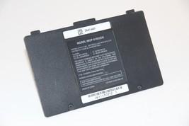 Original Nintendo Wii U Black Gamepad Battery Cover Lid door Kit Wii U G... - $9.99