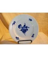 "Royal Copenhagen Blue Aster Flower Braided Rim Salad Plate 7 1/2"" - $14.48"