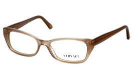 d3572bbb23a0 Versace Eyeglasses 3150-B Sand 937 Women  39 s Designer Optical Frame VE3150
