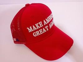 MAGA President Donald Trump Make America Great Again Red Cap Net - $11.99
