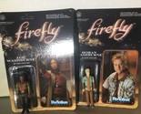 Firefly Zoe Washburne & Hoban Wasburne Funko ReAction 3 3/4-Inch Action Figures