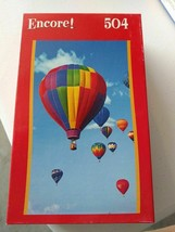 "504 Piece Encore Jigsaw Puzzle NEW ""Hot Air Ballooning""10.75x18 inches (E) - $9.30"