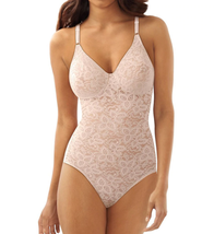 Bali ROSEWOOD Lace 'N Smooth Shaping Body Briefer, US 34C, UK 34C - $34.45