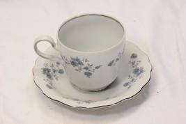 Johann Haviland Blue Garland Cups and Saucers 8 each - $39.19