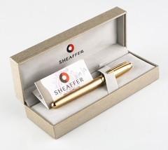 Sheaffer 22k Gold Plated Prelude Signature Fountain Pen w/ Original Box ... - $222.75