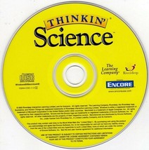Thinkin' Science (Ages 7-9) (CD, 2005) for Win/Mac - NEW CD in SLEEVE - $6.98