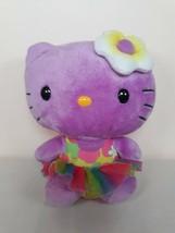 "Ty Beanie Babies 6"" Purple Hello Kitty Plush - $12.99"