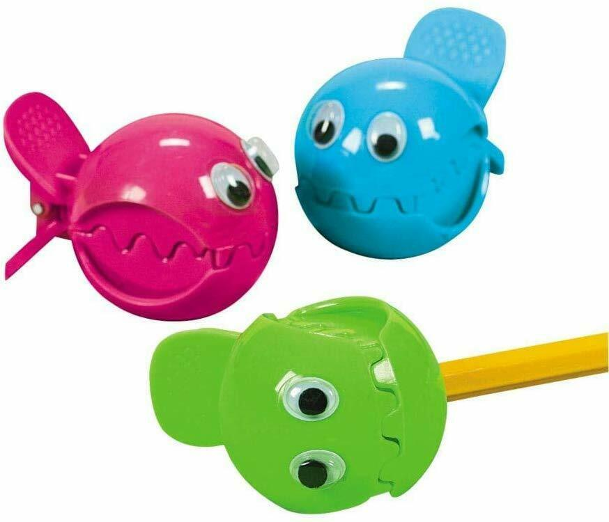 Wiggle Eye Fish Pencil  Sharpeners (12 Pack) image 1