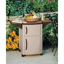 Suncast Patio Cabinet and Prep Station  - $128.70