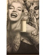 Day Of The Dead Marilyn Monroe Light Switch Cover outlet home decor Suga... - $7.94