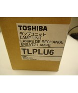 Toshiba TLPLU6 Replacement Lamp Bulb for Toshiba 3LCD Data Projector New... - $20.58