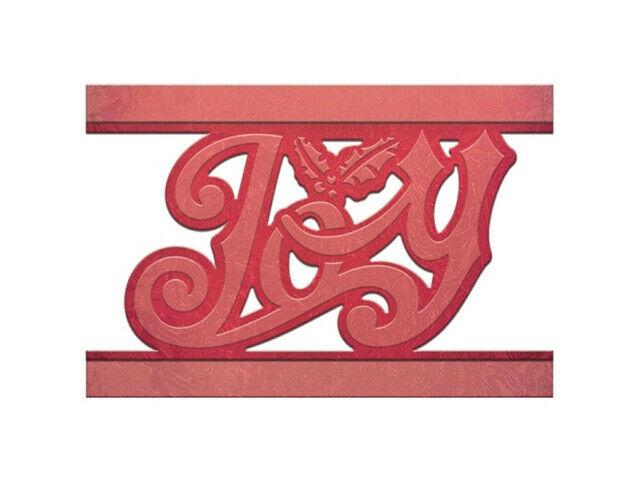 Spellbinders Holiday Joy Strip Die #S4-548