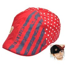 Baby Red Beret Toddler Sun Protection Hat Baseball Cap Fashion Hat For 1-3Y