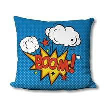 Pop Art Pillow - Retro Print - Comic - Pop Art Print - Superhero - Comic... - $16.99