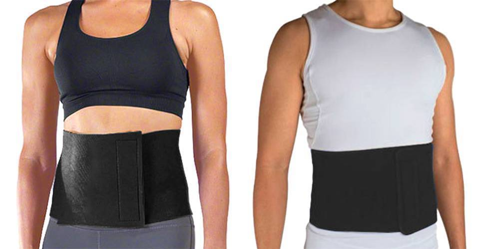 NEW UNISEX WAIST TRIMMER ADJUSTABLE GYM WORKOUT SLIMMING BELT TY-086 ONE SIZE