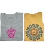 Life Is Good Women's Short Sleeve Crusher V-Neck Tee Shirt T-Shirt, Medium - $28.00