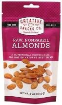 Creative Snacks Co. Raw Nonpareil Almonds - $8.50