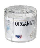 CreativeWare 12270CLR Cosmetic Organizer Cotton/Q-Tip Jar - $18.39