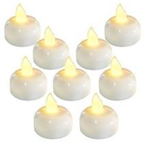 Homemory 24 Pack Waterproof Flameless Floating Tealights, Warm White Bat... - $19.44