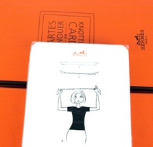 Hermes Cartes a Nouer Knotting Cards 21 HOW TO Knott Scarf Foulard Scarves Guide - $98.01
