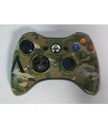 Original Wireless Controller Camouflage AN-Xbox360 Microsoft Xbox 360 WORKS - $27.71
