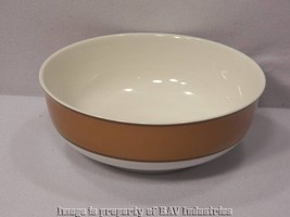 """Fitz and Floyd Correlations Amber Stripe Mixing Serving Bowl 9 1/2"""" - $21.64"""