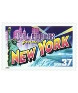 2002 37c Greetings from America, New York Scott 3727 Mint F/VF NH - €1,87 EUR