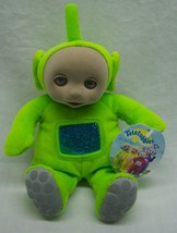 """1998 Teletubbies Green Dipsy Character 6"""" Plush Stuffed Animal Toy New w/ Tag - $39.60"""