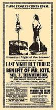 Being For The Benefit of Mr. Kite Poster 11x17 Beatles Sgt. Pepper's John Lennon image 1