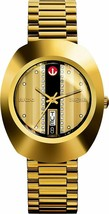 New Rado Diastar R12413343 Automatic Gold Plated Swiss Men's Wrist Watch . - $680.13