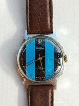 Pobeda Soviet Vintage mechanical mens Watch 1980s USSR - $21.36