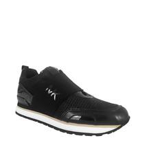 Michael Kors Teddi Trainer Textile Glitter Sneakers, Size 7 M - $130.89