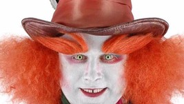 Alice In Wonderland Mad Hatter Costume Eyebrows Adult One Size - $9.45