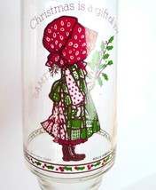 Christmas Holly Hobbie Enjoy Coke  Glass Tumbler 1981 vintage 20 OZ  - $6.79