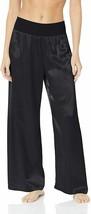 PJ Harlow BLACK Long Satin Pants, US Large - $40.39