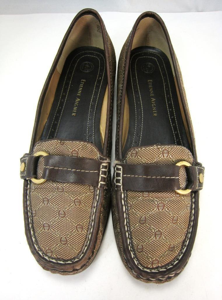 6b7234002a9a5 Flats Etienne Aigner 9 M Brown Logo & and 50 similar items