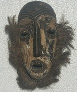 Vintage Lega Bwami Zaire Congo African Tribal Art Antique Bearded Kaolin... - $1,175.99