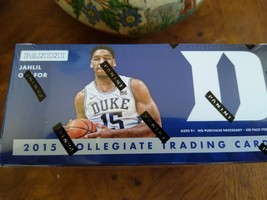 2015 Panini Duke Blue Devils Multi-Sport 24-Pack Box or Individual pack ... - $2.47+