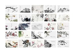 Chinese Landscape Painting Style Post Cards for Collecting - £9.62 GBP