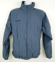Columbia Men's Gray Nylon Men's Water Resistant Outdoors Jacket Size L - $24.44