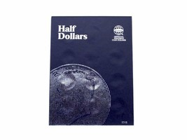Plain Half Dollar, No dates, 36 openings Coin Folder by Whitman - $7.49