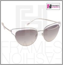 OLIVER PEOPLES JOSA OV1187 Silver Clear Crystal Mirrored Sunglasses Cat Eye 1187 image 7