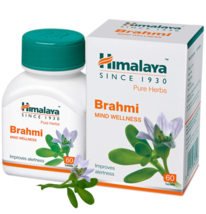 Himalaya Herbal Brahmi Tablets -Clarity of thought & enhance memory - 60 Tablets - $12.99+