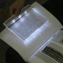 LED Book Light Flat Plate Portable Reading Lamp Panel School Students St... - $18.84