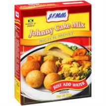 J.F. MILLS JOHNNY CAKE MIX 500G (Pack of 3) - $29.99