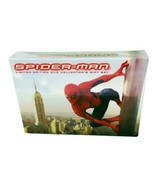 Spiderman Box Gift Set 3 Disc Limited Edition Collectors Stan Lee 2002 - $34.99