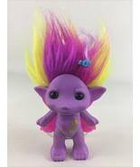The Zelfs Buttershy Figure Troll Sparkle Doll Butterfly Glitter Hair Moo... - $15.10