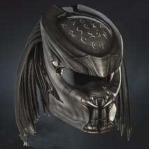 Great Predator Motorcycle Helmet Black Glossy (Dot & Ece Certified) - $250.00