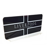 """Liverpool Jeans Company 8.5"""" x 18"""" two sided Acrylic display Advertising... - $84.15"""