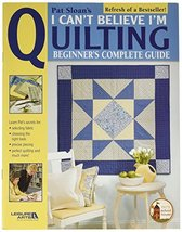 Leisure Arts LA-3649, I Can't Believe I'm Quilting Book - $7.99